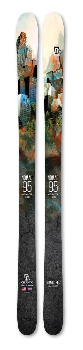 ICELANTIC Nomad 95