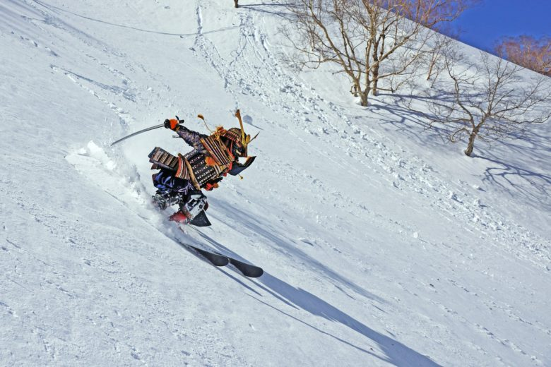 甲冑スキー