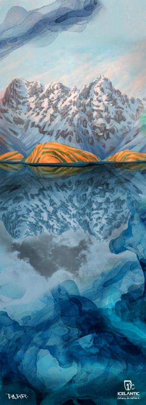 ICELANTICスキー16/17モデルNomad115アートワーク