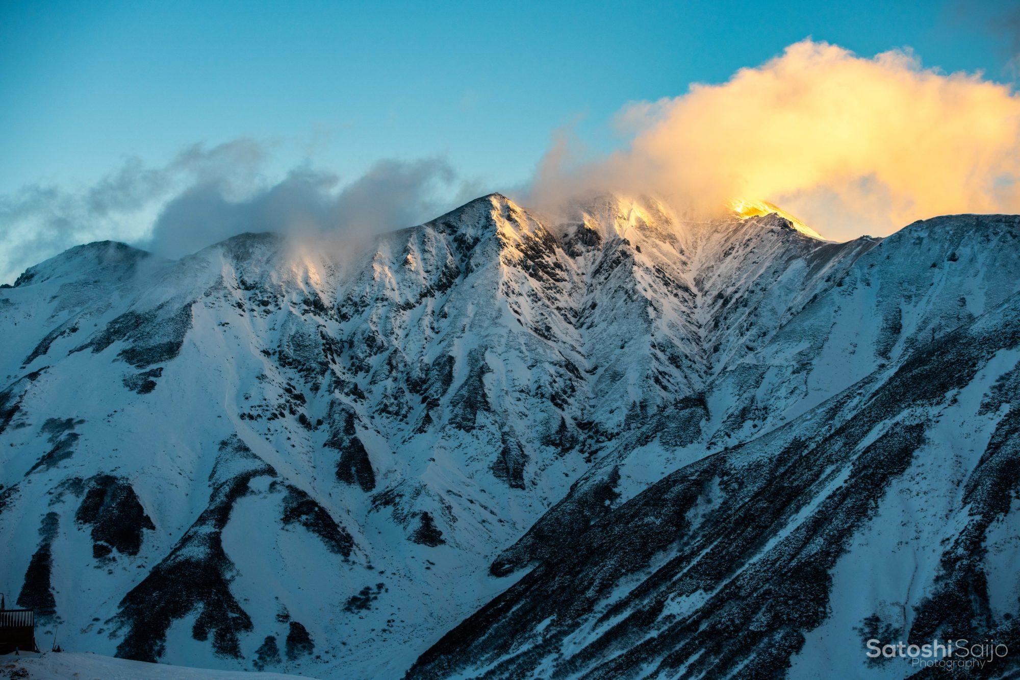 現実離れした絶景の立山