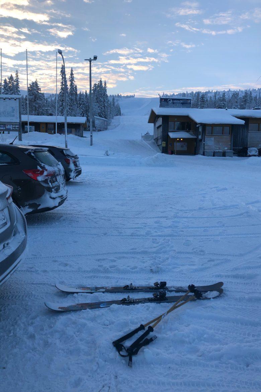 Nomad95でフィンランドを滑る