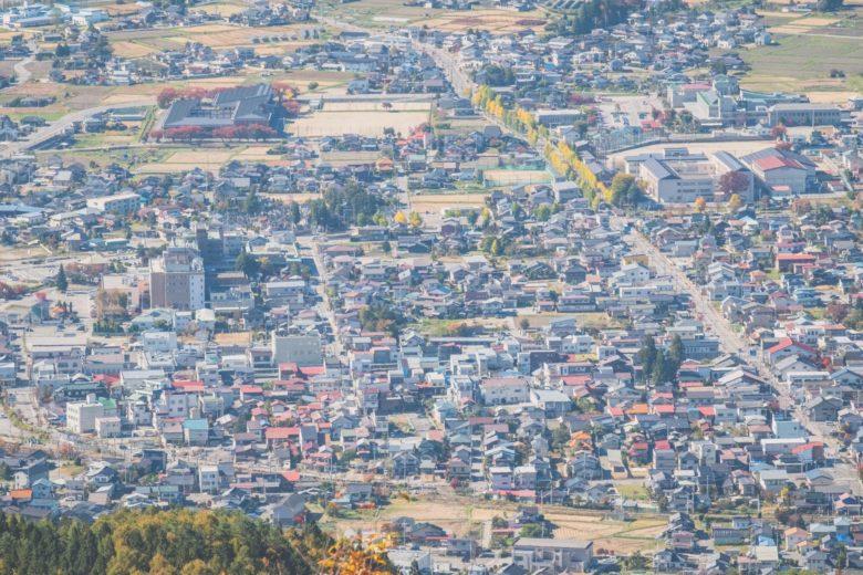 市街地の街並み