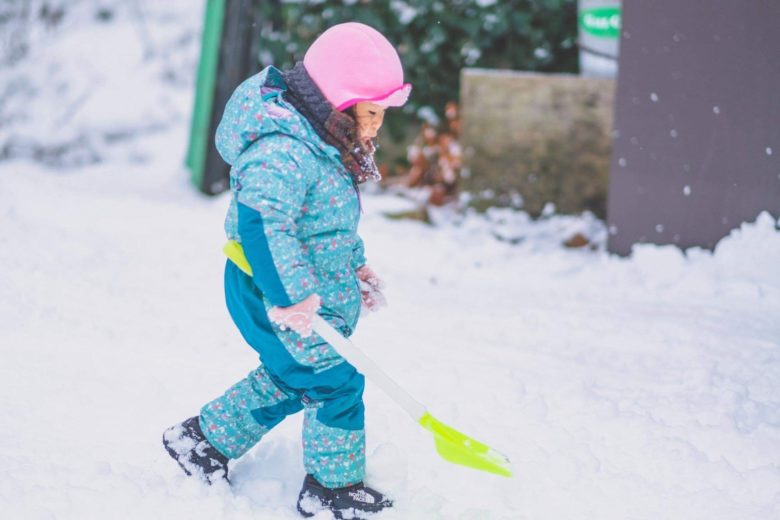除雪の労力