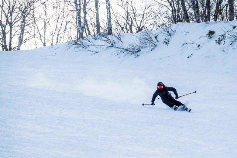 スキーを楽しめる大町市